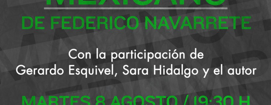 Presentación de Alfabeto del racismo mexicano
