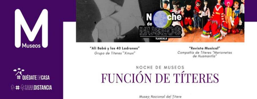 Noche de museos: Títeres