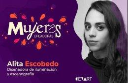 Alejandra Escobedo. Diseñadora de iluminación y escenog...