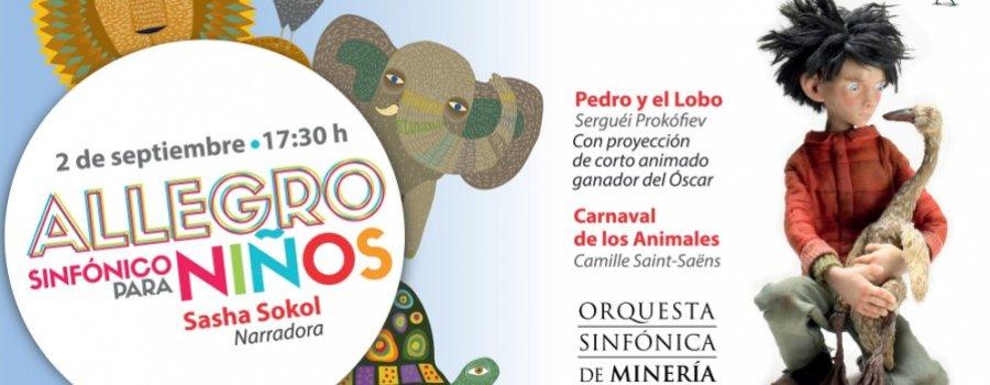 Carnaval de los animales y Pedro y el lobo