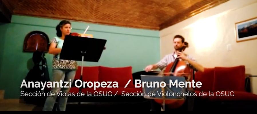 Dueto para viola y violonchelo de Ludwig Van Beethoven