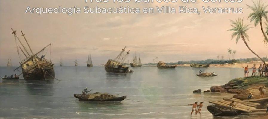 Hallazgo de las posibles anclas de Hernán Cortés