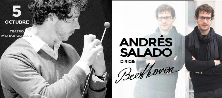 Andrés Salado dirige Beethoven