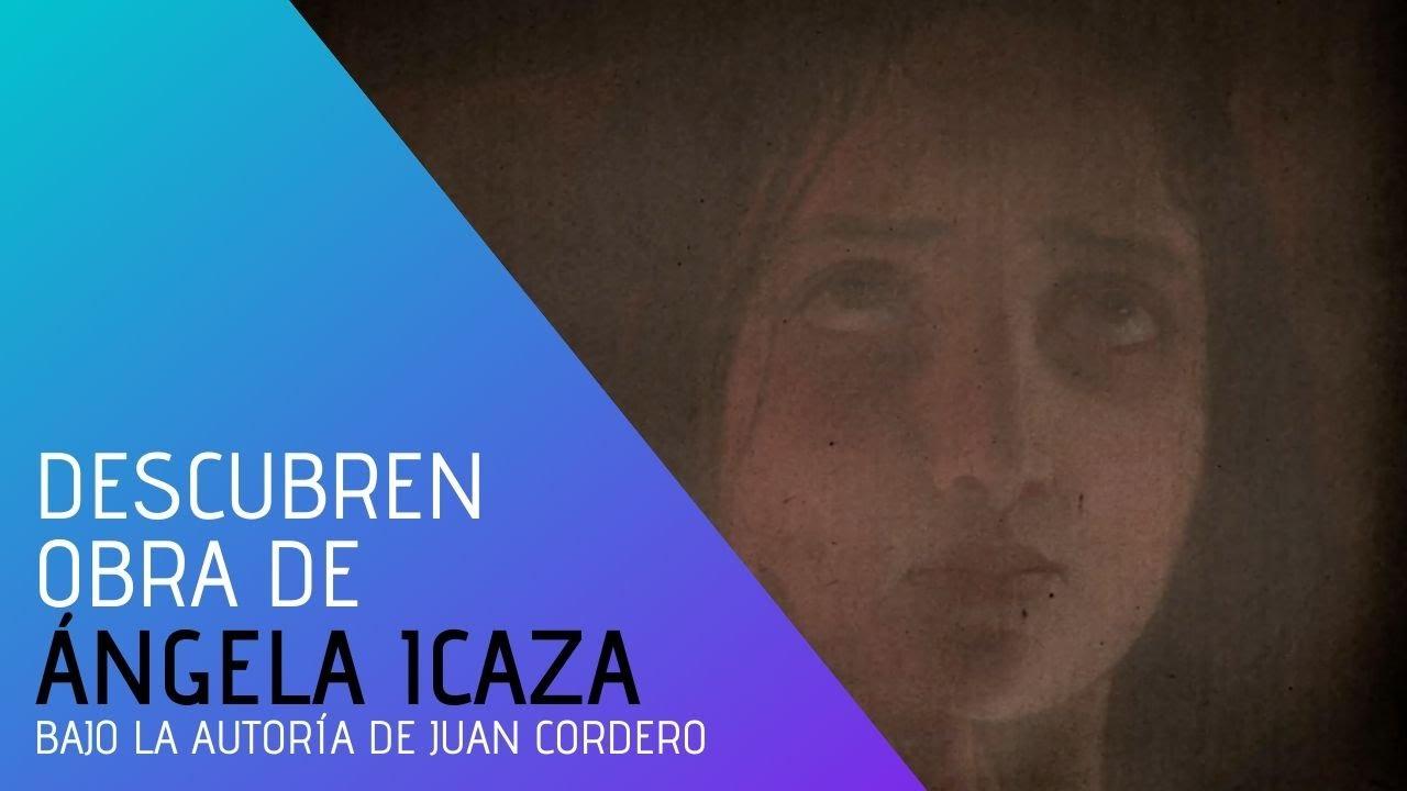 Descubrimiento de obra de Ángela Icaza en pintura bajo la autoría de Juan Cordero