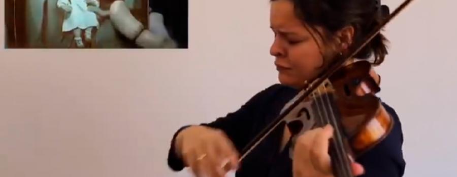 """Angélica Olivo interpreta la banda sonora de """"Coco"""""""