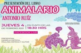 Presentación  del libro: Animalario de Antonio Ruiz