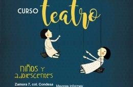 Curso de teatro para niños y adolescentes