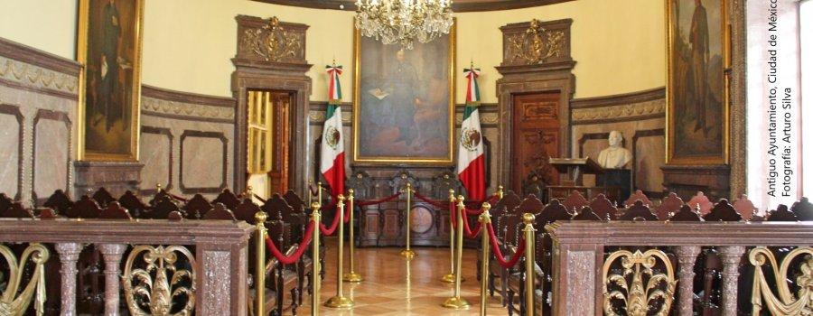 La edificación del poder en Nueva España. Centro Histórico, Ciudad de México