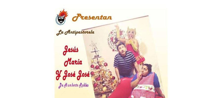 La Antipastorela Jesús, María y José José