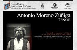 Tenor Antonio Moreno Zúñiga