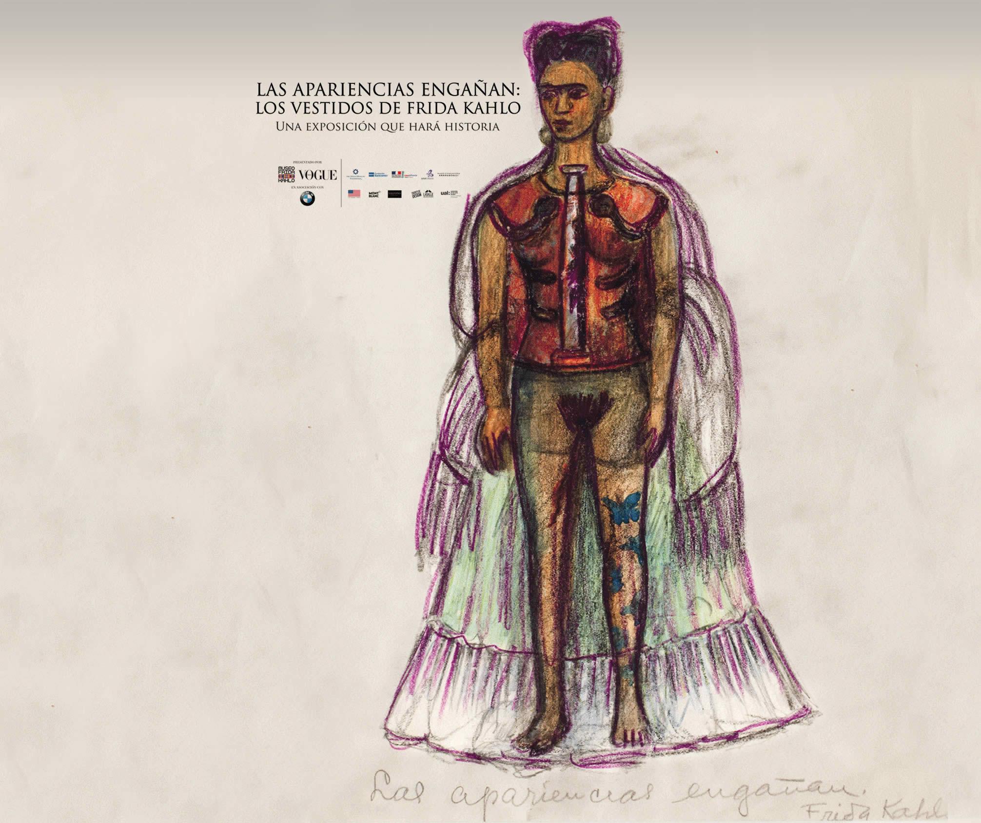 Las Apariencias Engañan Los Vestidos De Frida Kahlo