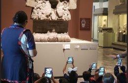 Vive realidad aumentada en el Museo de Antropología