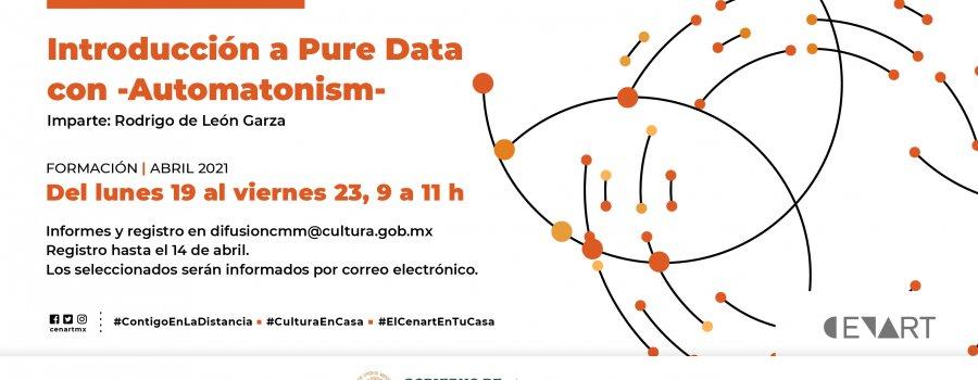 Introducción a Pure Data con -Automatonism-