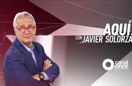 Aquí con Javier Solórzano
