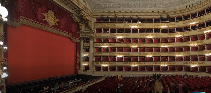 Los archivos del Teatro de la Scala