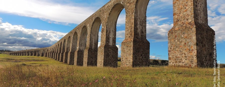 Arcos de Sitio y Museo Nacional del Virreinato. Estado de México