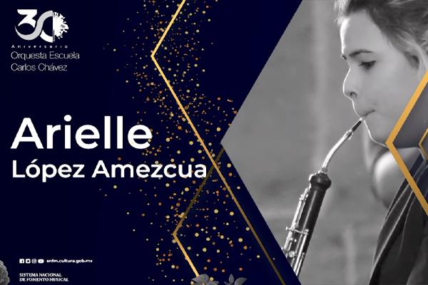 Concierto, examen de titulación de la especialidad en Oboe: Arielle López Amezcua
