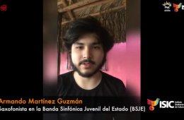 Armando Martínez, saxofonista en la BSJE con Adagio y Ro...