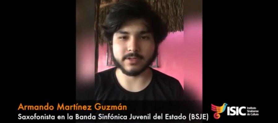 Armando Martínez, saxofonista en la BSJE con Adagio y Rondó Op. 63, de Boquillon