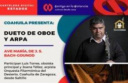 Dueto de Oboe y Arpa  Ave María, de J. S. Bach-Gounod