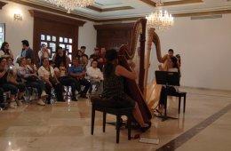 Recital by the Harp Ensemble of Carlos Chávez School Orc...