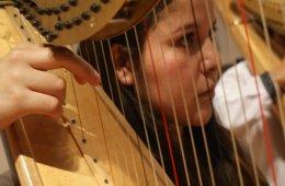 Dúo de Arpas de la Orquesta Escuela Carlos Chávez en Lo...