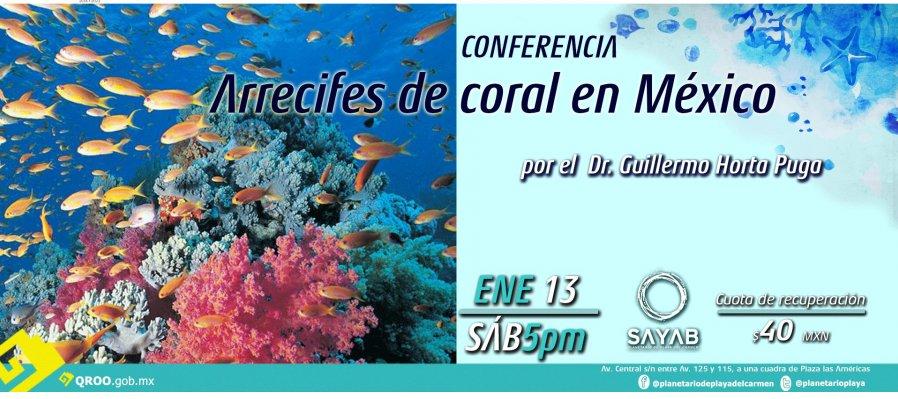 Arrecifes de coral en México