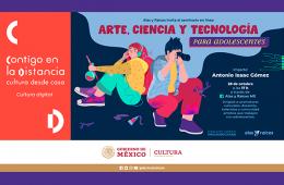 Seminario en línea: Arte, ciencia y tecnología para ado...