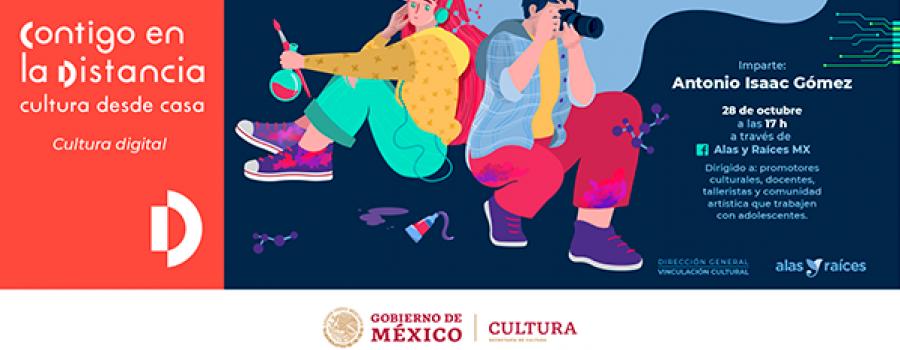 Seminario en línea: Arte, ciencia y tecnología para adolescentes