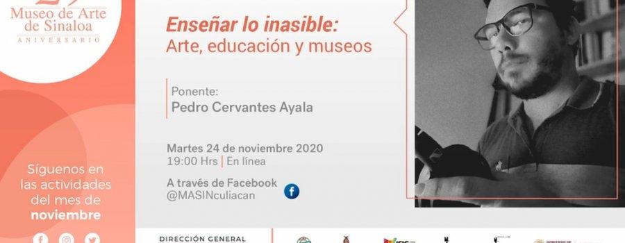 Conferencia: Enseñar lo inasible: Arte, educación y museos