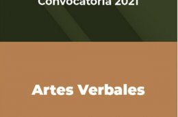 Artes Verbales, Convocatoria 2021