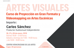 Curso de proyección en gran formato y videomapping en ar...