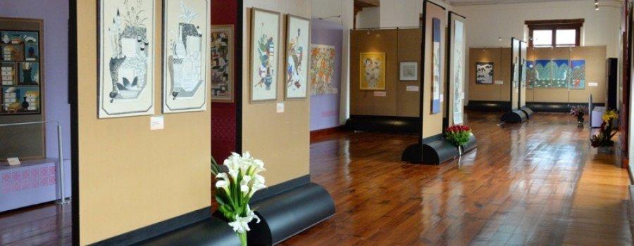 Colores de Corea. Pinturas de Ana Kim
