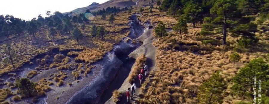 Volcán La Malinche. Tlaxcala