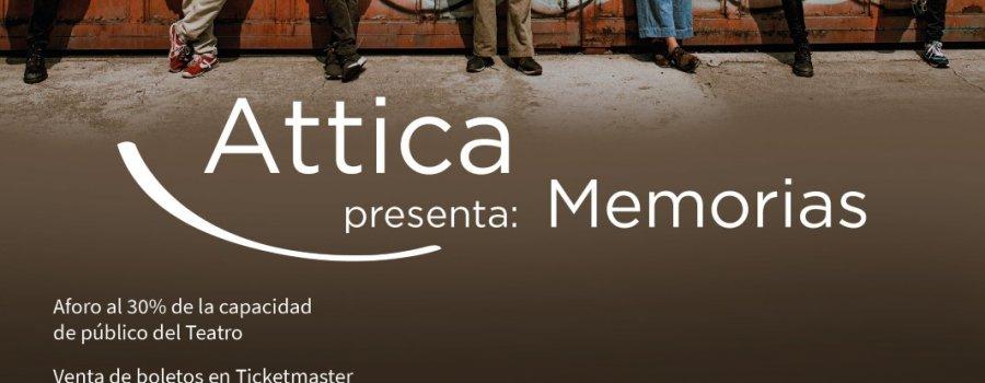 Attica presenta: Memorias
