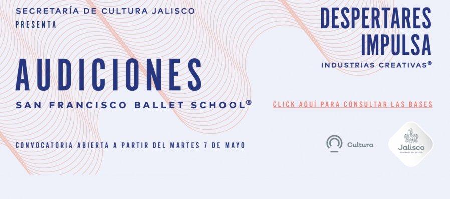 Participa en las audiciones del San Francisco Ballet