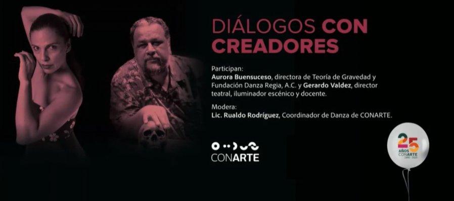 Diálogos con creadores: Aurora Buensuceso y Gerardo Valdez