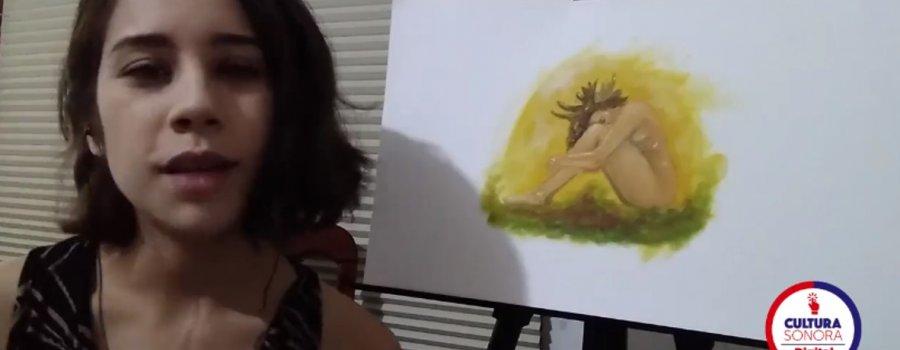 Taller de pintura con técnica mixta: autorretrato