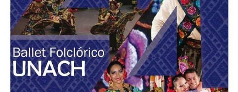 44 Aniversario del Ballet Folclórico de la UNACH