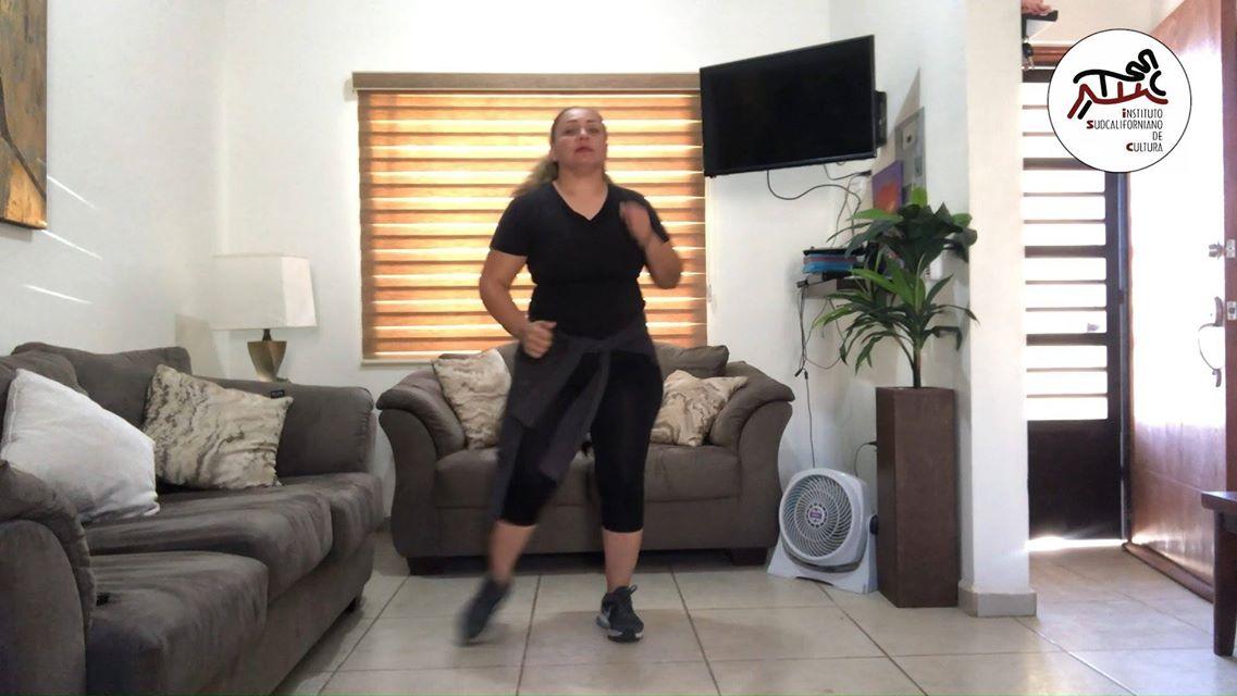 Clase de baile con Kenya Castro. Sesión 2