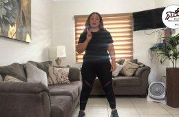 Clase de baile con Kenya Castro. Sesión 3