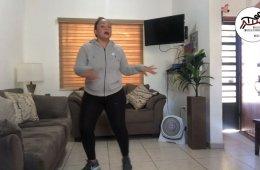 Clase de baile con Kenya Castro. Sesión 4