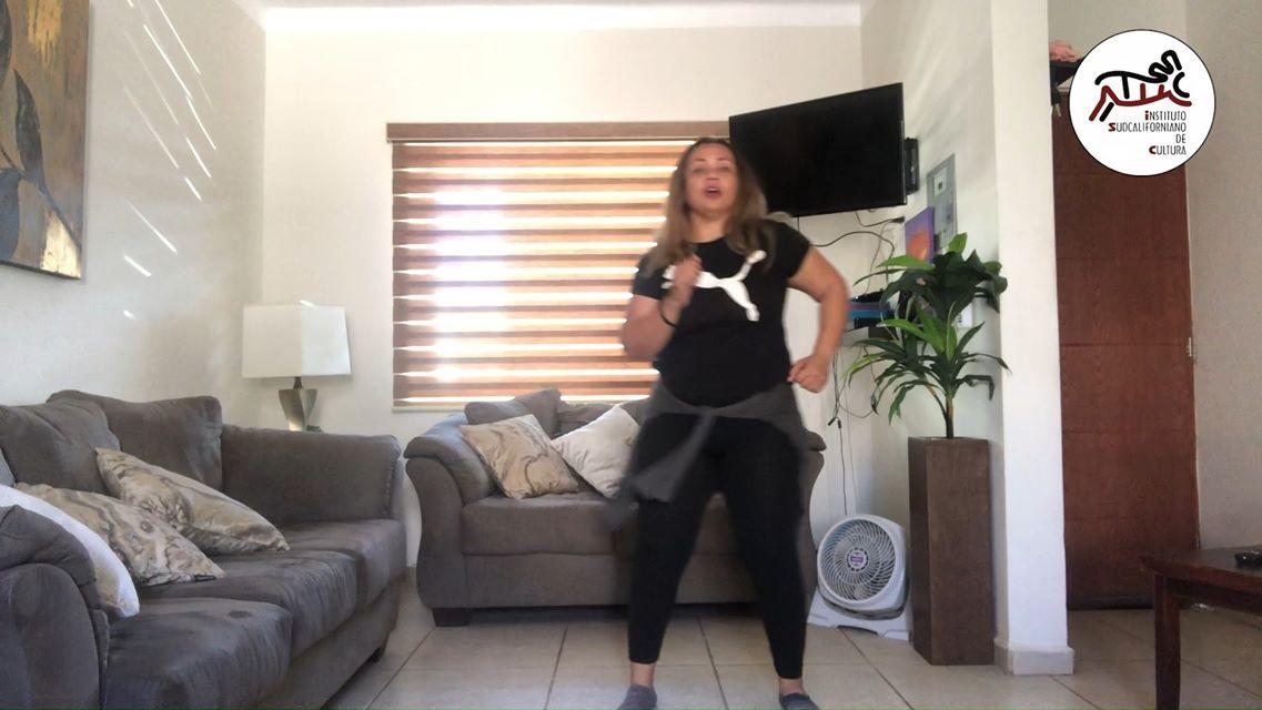Clase de baile con Kenya Castro. Sesión 1