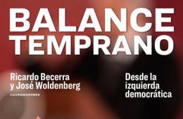 Balance temprano: Presentación editorial