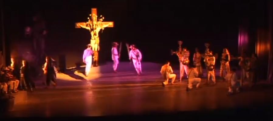 Ballet de la Ciudad de Tepic presenta una coreografía dedicada a la Semana Santa Cora