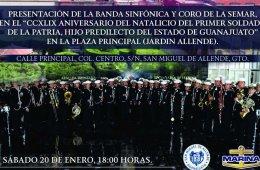 CCXLIX Aniversario del Natalicio del Primer Soldado de la...