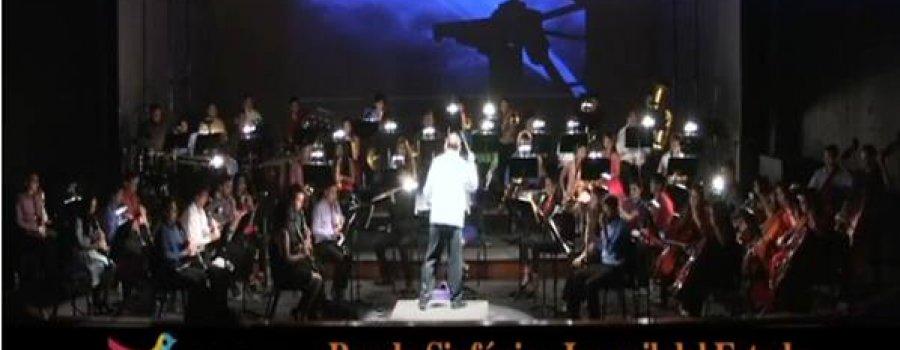 Producciones especiales de la  Banda Sinfónica Juvenil del Estado, recrea temas de películas infantiles