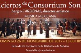 Consortium Sonorus Conciertos - Música Mexicana
