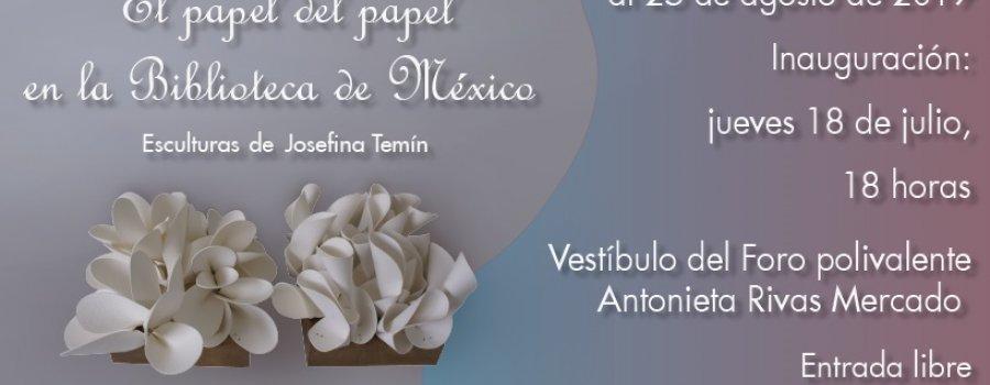 El papel del papel en la Biblioteca de México