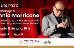 Il maestro. Homenaje a Ennio Morricone.